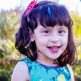 Lucia's Story - Your support helps Lucia and her brothers, and many families just like hers find a place where they all feel a sense of belonging, can create friendships and can be connected with others.
