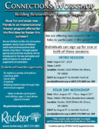 Connections Workshop - Building Relationships Through Improv - Racker Ithaca - Autism Workshop - Social Workshop - Improv Theater