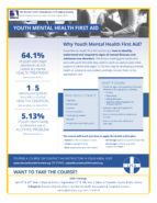 Youth Mental Health First Aid 2020 Flyer