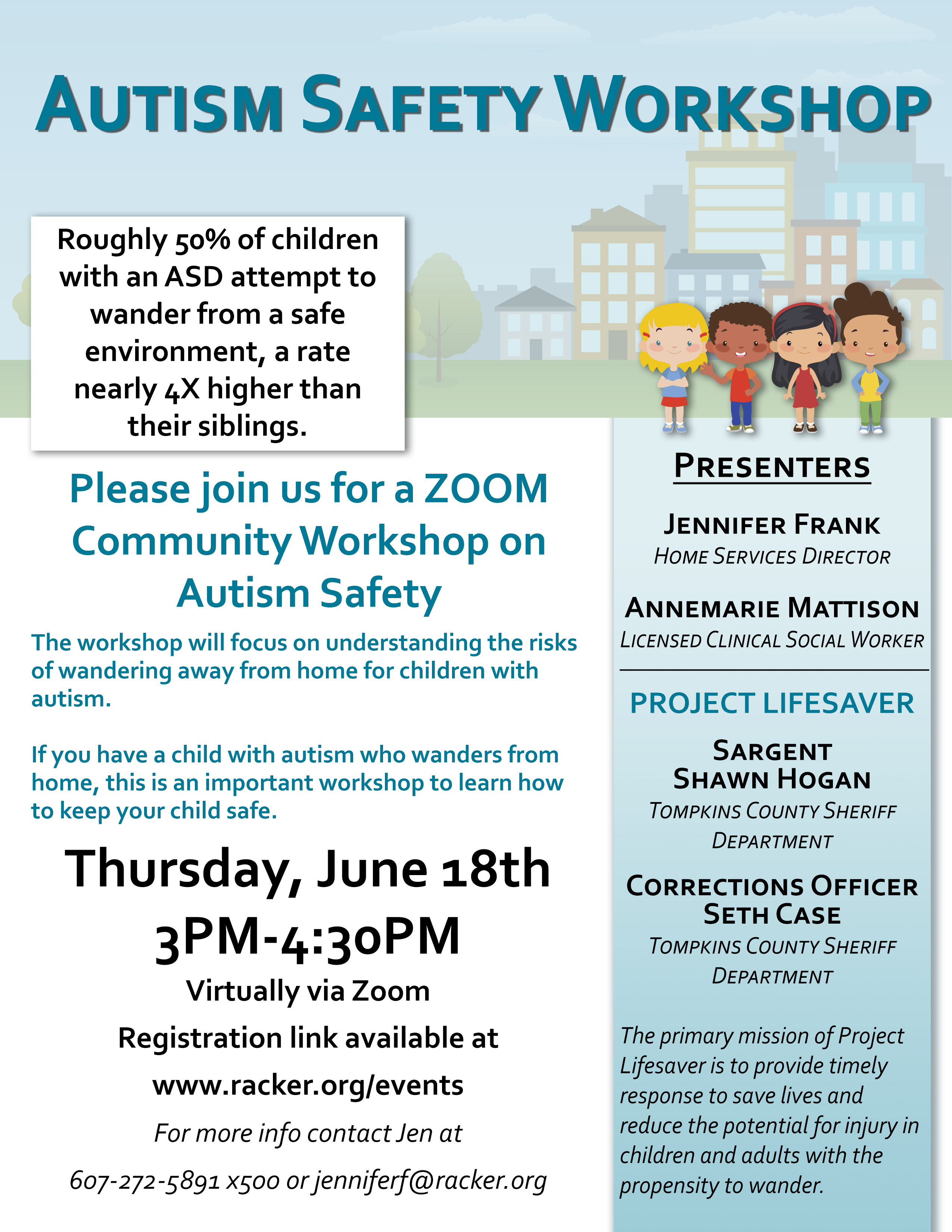 Autism Safety Workshop